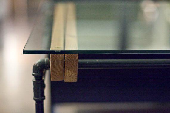 Glass Loft Dining Table by cushdesignstudio on Etsy, $800.00