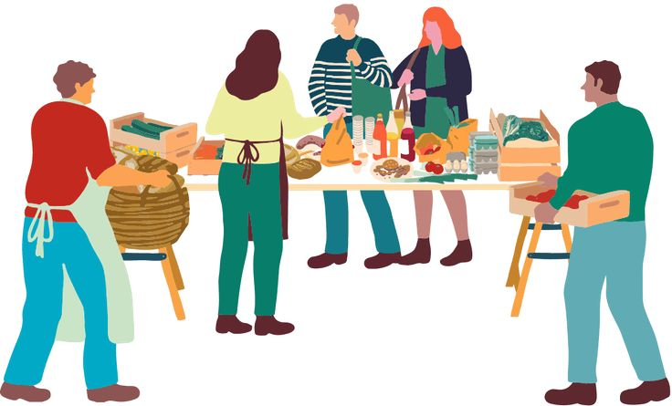 Network of communities buying fresh food directly from local producers and farmers. Fruits, vegs, vegetables, meat, dairy products, bread.... Come and discover fresh farm and local products from your area in your neighbourhood's Assembly.