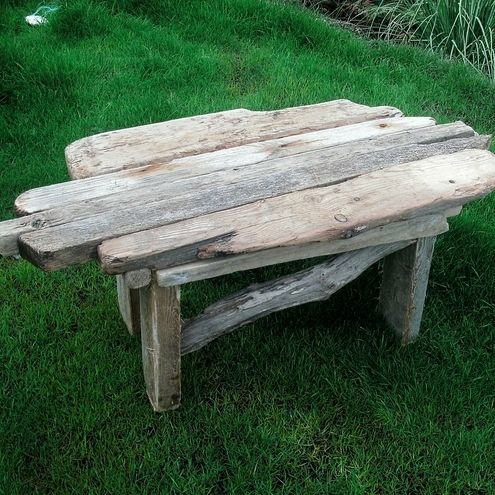 513 best 101 things to do with driftwood images on pinterest for Driftwood coffee table