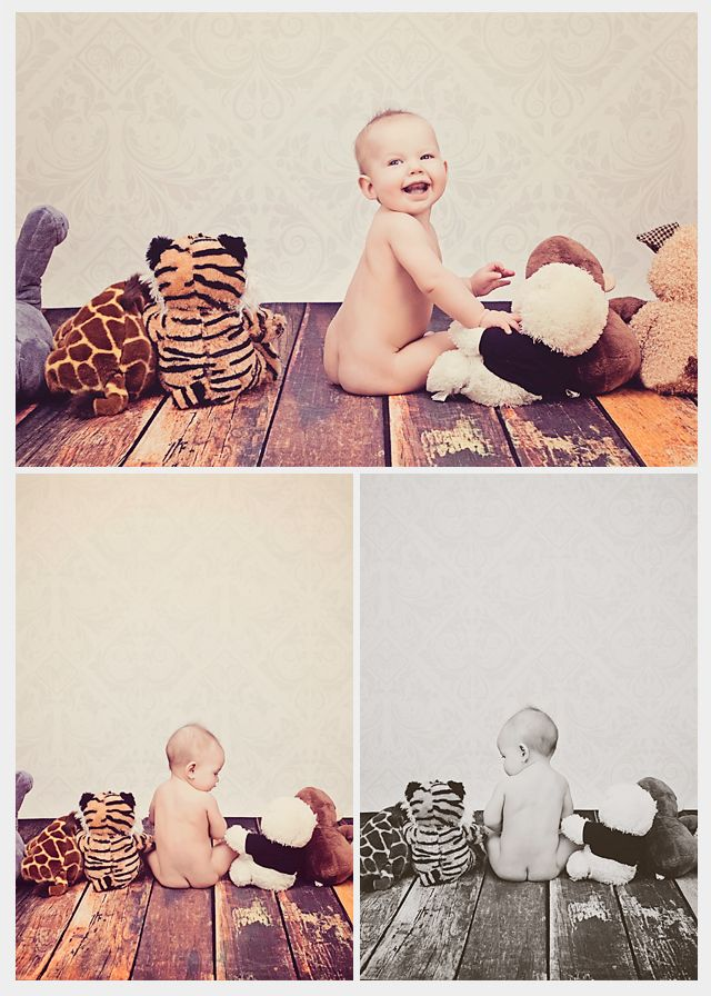 Little Girl 9 Month Photo Shoot - Deanne Mroz Photography