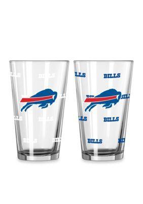 Boelter Clear 16-oz. NFL Bills 2-Pack Color Change Pint Glass Set