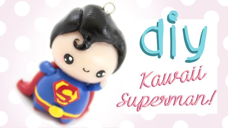 How to make a cute little superman chibi in clay! Thank you to everyone who requested this ^__^ ▽~Info, tips and ideas~▽ -You can use this tutorial as inspir...