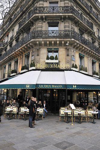 Les Deux Magots, #Paris  #cafe #coffeeshop #café