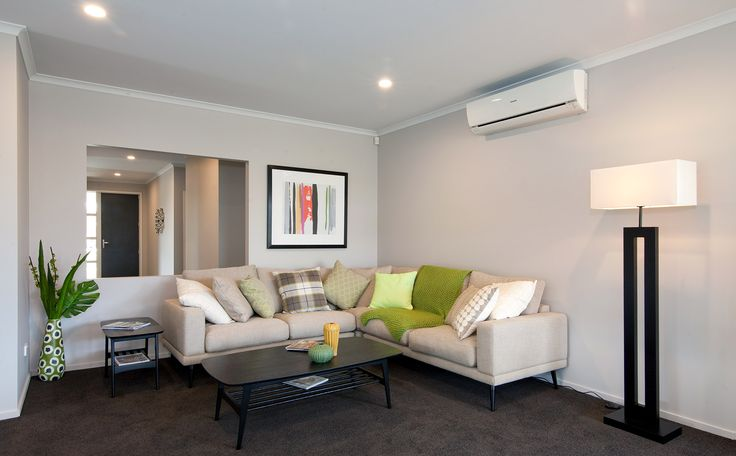Main living area, centrally located in the home