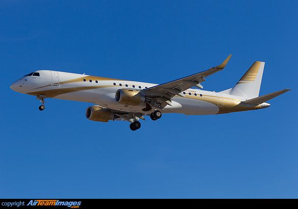 Embraer Lineage 1000 MGM Mirage..