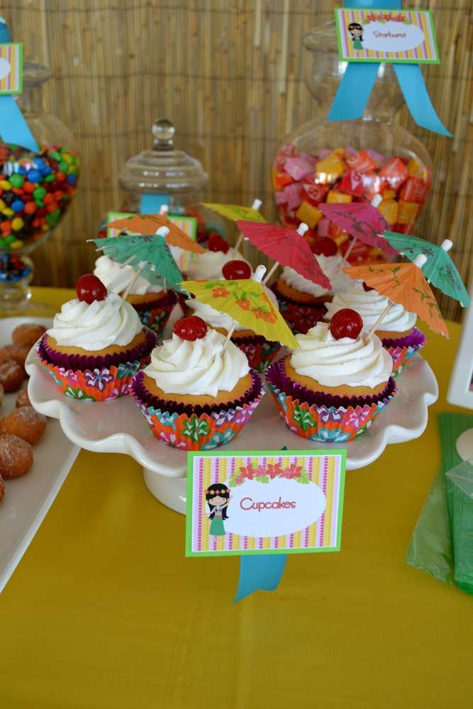 Hawaiian Luau Birthday Party Ideas | Photo 33 of 33 | Catch My Party