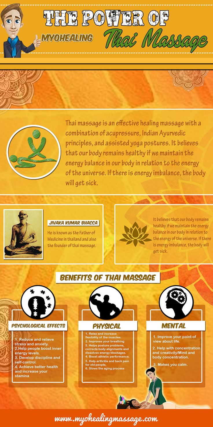 Ways Thai Massage Can Provide Stress Relief (Benefits, Effects and Tips) #ThaiMassage