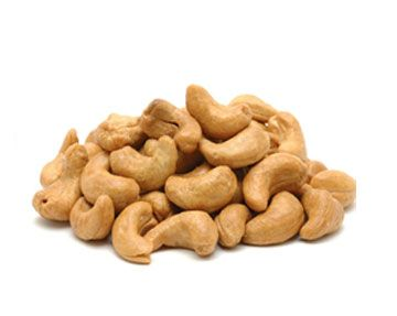 Cashews, like all nuts, are an excellent source of protein and fiber. Cashews are great for cooking, baking, or snaking. They are kidney-shaped nuts that grow on Cashew trees, and they have less fat than many other types of nuts.