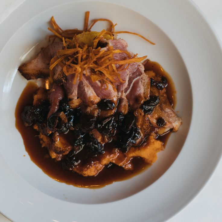 Duck for dinner? Only at Criollo Restaurant in New Orleans.