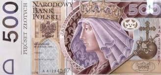 Znalezione obrazy dla zapytania Banknoty PLN