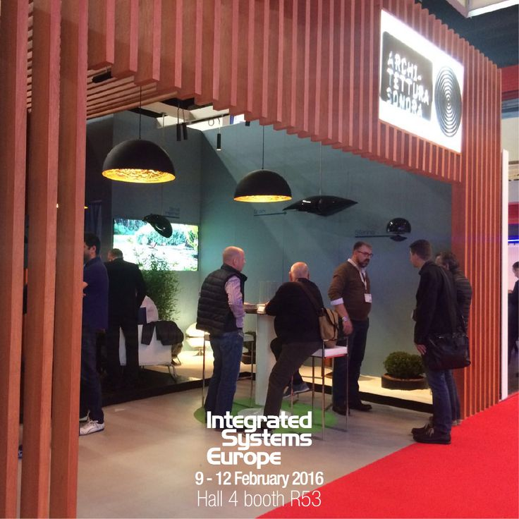 Here we are!! The long-awaited #ISE2016 has finally started today, Come to discover all the news Architettura Sonora has prepared for you in our amazing booth R53 in Hall4, with the magic lighting by Catellani & Smith #BecauseSoundMatters #ArchitetturaSonora #CatellaniSmith