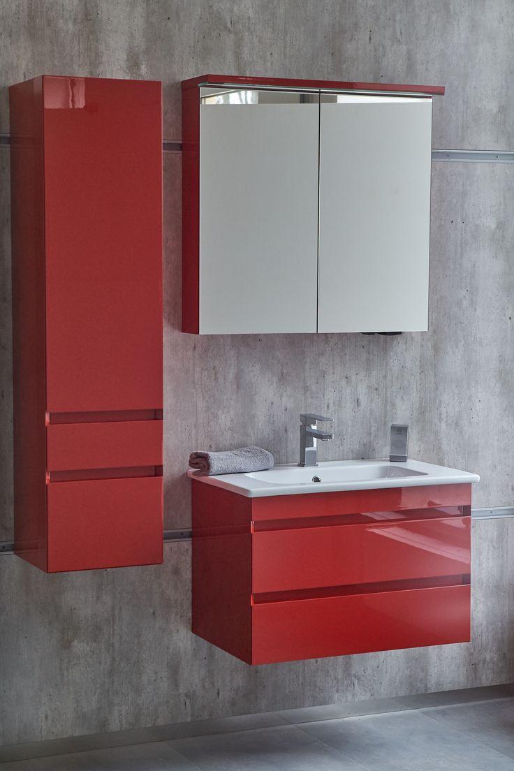 Hledáte inspiraci do vaší koupelny?  Český koupelnový nábytek Dřevojas nabízí stylové skříňky s umyvadlem