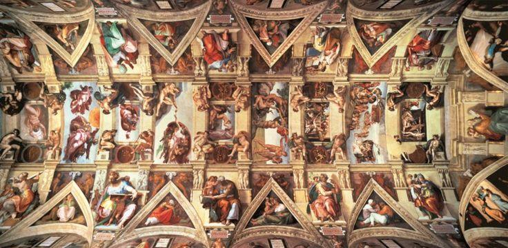 Puzzle EDUCA 18000 dílků - Michelangelo, Strop Sixtinské kaple