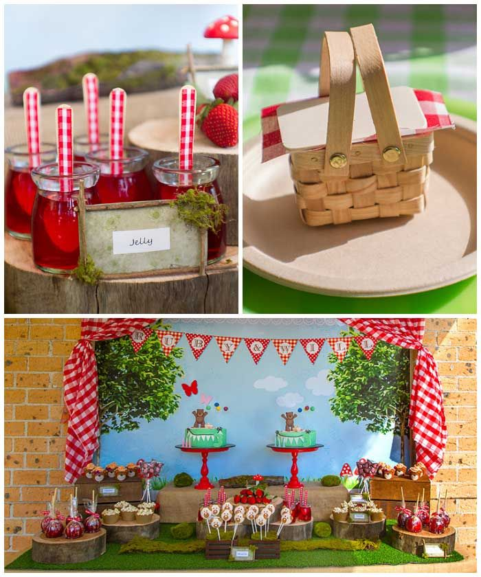 Teddy Bear Picnic Birthday Party