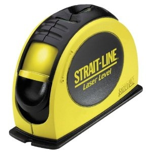 Strait-Line Laser Level - $58.95 // Make home improvement infinitely easier with a projected laser line that can extend 30 feet.