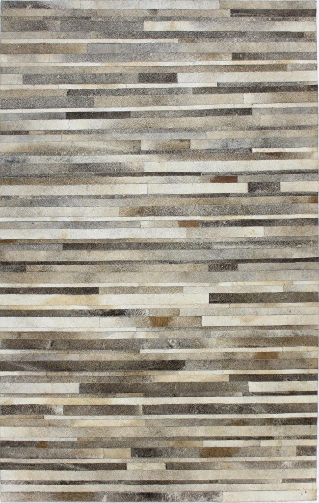 Striations Cowhide Hand Sched Rug By Bashian Rugs At Gilt
