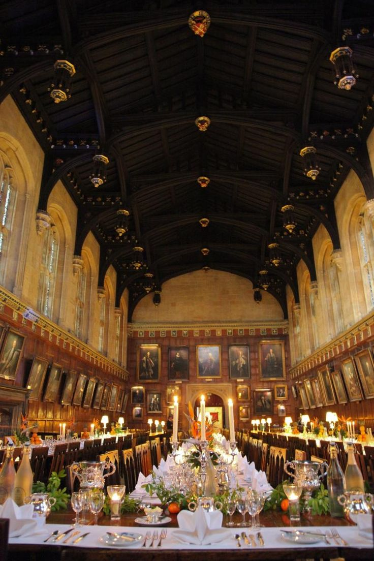 Dining, Christ Church, Oxford University