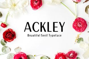 http://Ackley is a beautiful and bold sans serif font, an appealing typeface option for displays. Ackley is a contemporary font, and can be used in a large number of ways. Add Ackley to your font collection today.
