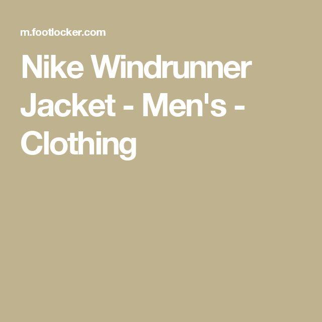 Nike Windrunner Jacket - Men's - Clothing