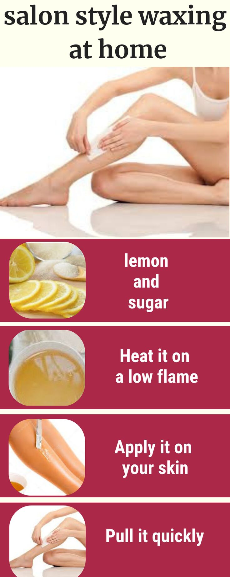 Diy recipes to do hands and legs waxing at home leg