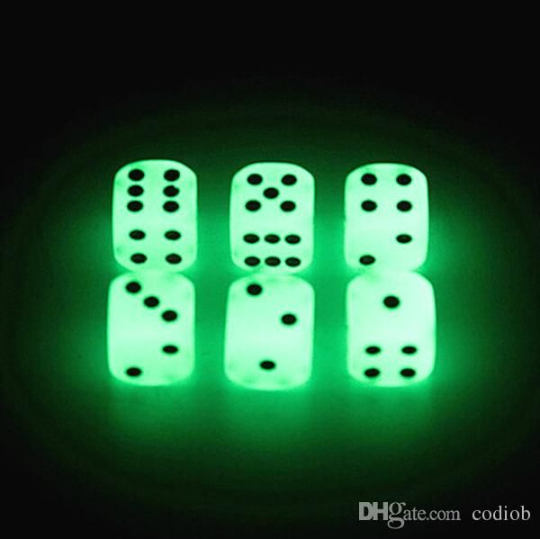 Luminous Dice 16mm D6 Glowing Dice Bosons Drinking Games Funny Family Game For Party Pub Bar Toys Good Price High Quality #w31 From Codiob, $0.26 | Dhgate.Com
