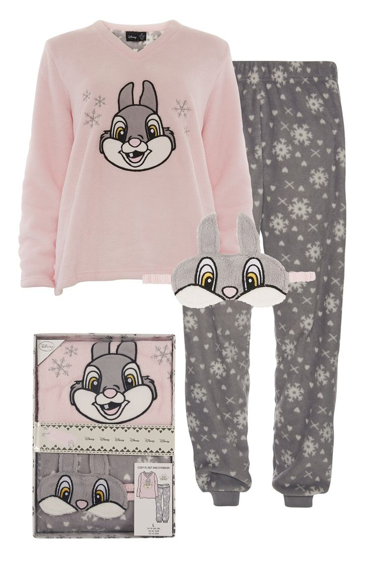 Primark - Pink Disney Thumper Gift Box PJ Set