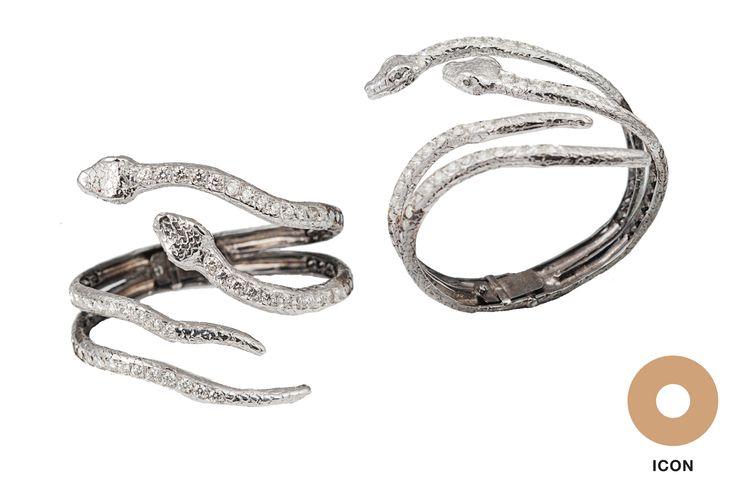 #Snake bracelet by Bernard Delettrez - #BernardDelettrez