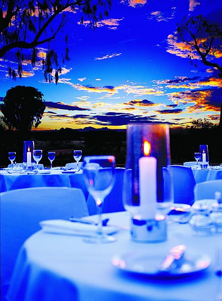 Sounds of Silence Dinner, Uluru. Travel about 4km away from the rock into the middle of nowhere. Be greeted with champers and an amazing dinner amongst the stars and vastness of the NT outback. Yes Please!