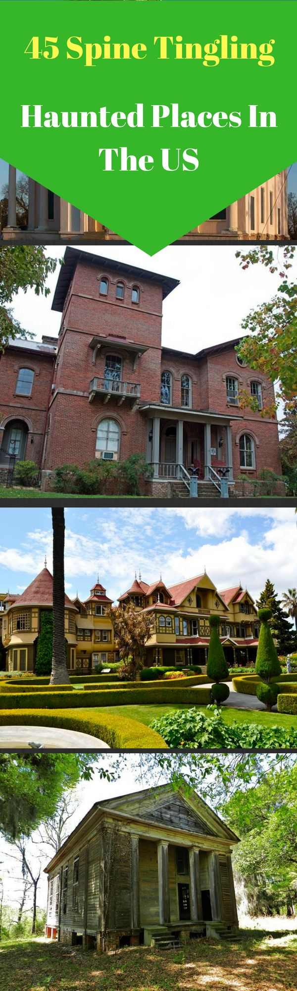 See 45 of the scariest, most haunted places in the world