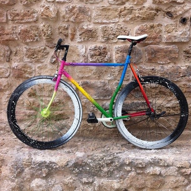 Cruisin W The Ying Yang Space Machine Paint Bike Bicycle