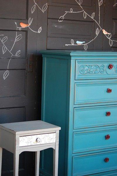 Aqua kitchen, Aqua and Kitchen cabinets on Pinterest