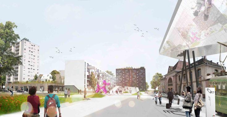 Gallery - Das Band meiner Stadt (The Band of My City) Winning Proposal / da architecture - 1