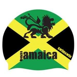 Jamaica, una bellissima cuffia, ideale per proteggere i vostri capelli dal cloro durante gli allenamenti in piscina.  Una cuffia per il nuoto, sportiva, confortevole e pratica, realizzata al 100% in silicone.  Ideale per i vostri allenamenti quotidiani.