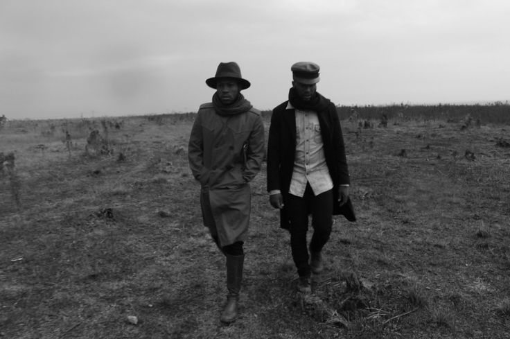 Fall/winter in soweto Trench coats, winter knee boots & winter hats