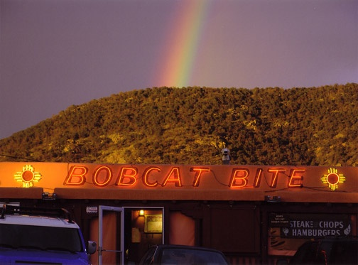 At the End of the Rainbow.  Love it!  Santa Fe, NM