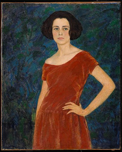 Portrait of Audrey Buller (1919-1920) Randolph Hewton (Beaver Hall Group) National Gallery of Canada - Audrey Buller was also an artist.
