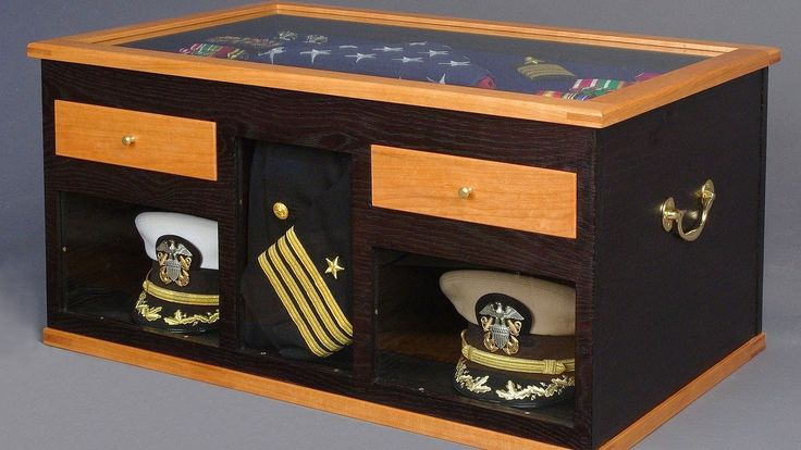 Military Retirement Sea Chest | Making a Navy Sea Chest Part 4, Drawers: Andrew Pitts ~ FurnitureMaker ...
