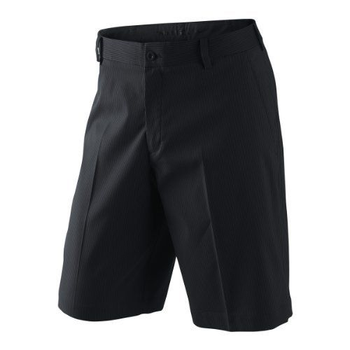 Nike Golf Stripe Short Black / Grey Size 33 Nike. $64.99. 95% polyester, 5% spandex.. 11 inch inseam. Stretch Fabric. Flat Front