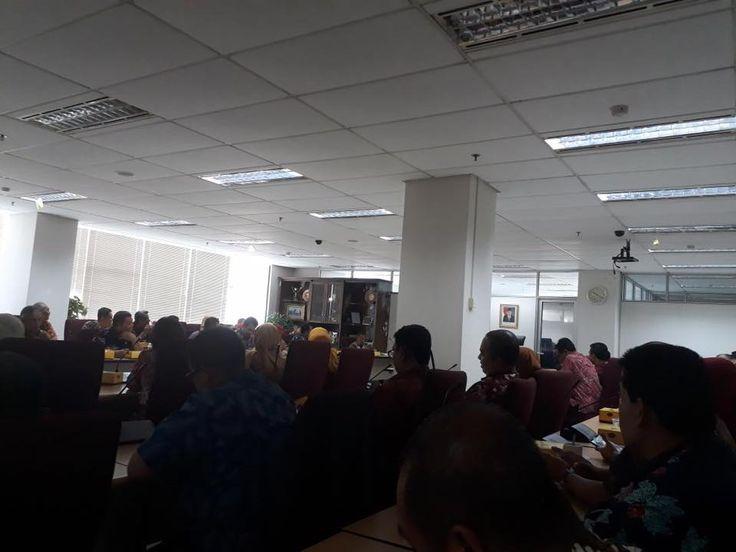 Pengarahan Kaban & Wakaban kepada eselon 3 BPRD tentang program kerja 2018