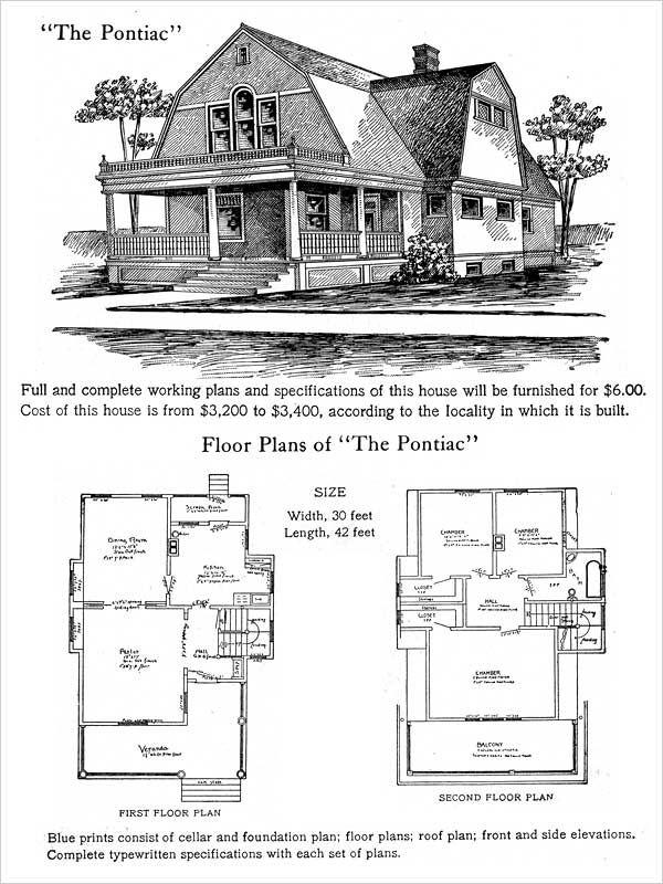 44 best Antique, Historical & Early Twentieth Century Home Plans ...