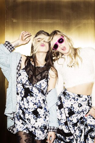 Exclusive! Watch Alexandra Richards and Chelsea Tyler Totally Rock MinkPink's Fall Campaign