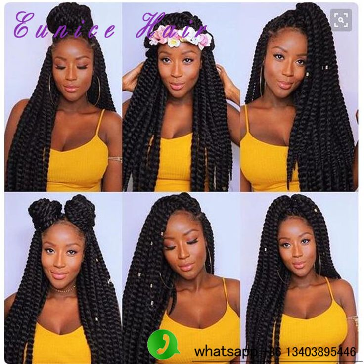 "24"" Hot Sale1B Premium Soft Havana Twist Crochet Braid"