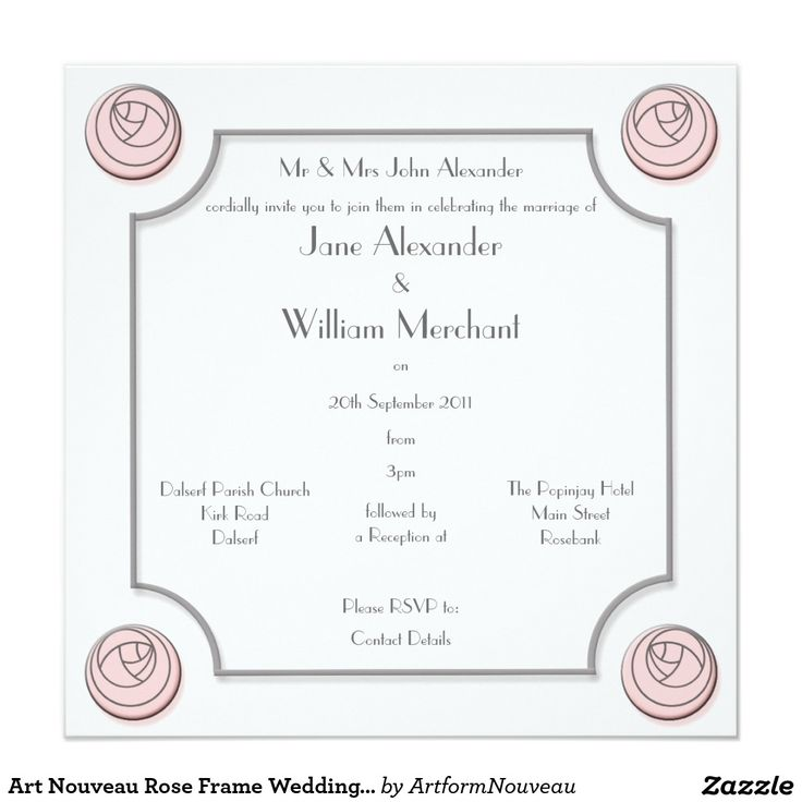 94 best Wedding - Invitations images on Pinterest | Invitations ...