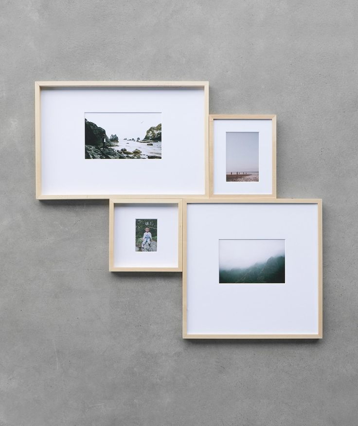 Gallery Wall Made Easy: Try an assembly of connected frames for a compelling yet simple look.