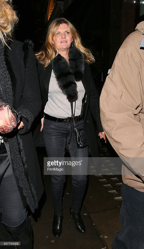 Susannah Constantine leaves Colbert restaurant on December 18 2013 in London England