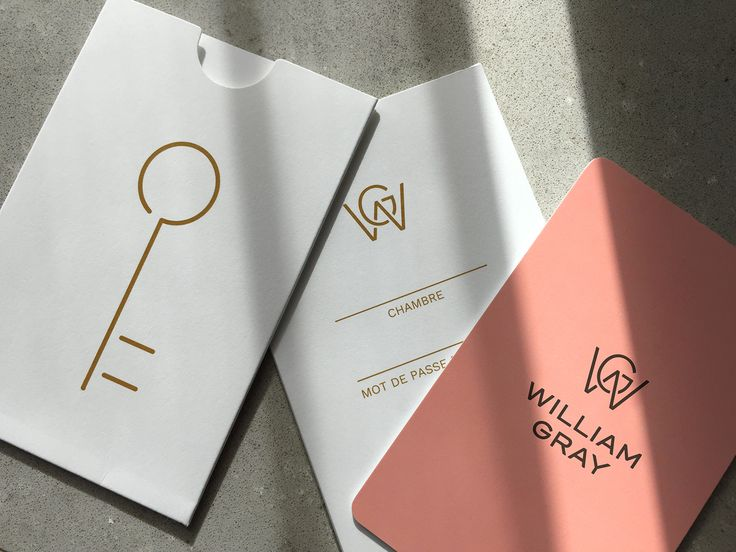 Paprika has designed the identity and brand platform of the new boutique hotel William Gray, located in the heart of two heritage homes in Old Montreal.