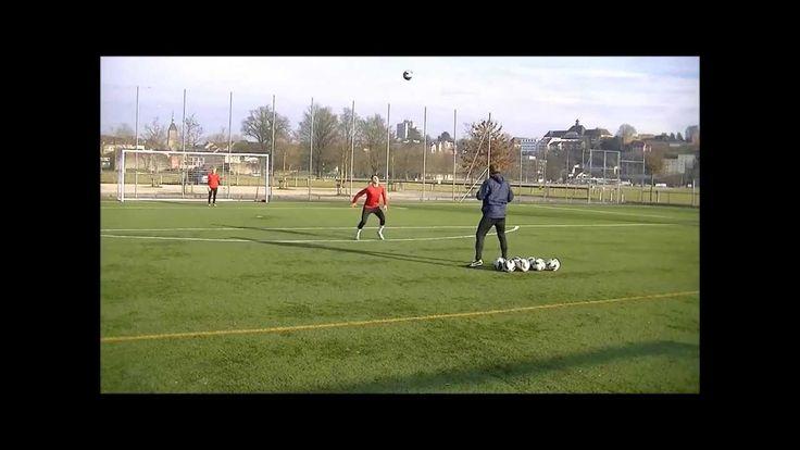 Fußball Komplextraining wie Robert Lewandowski und Aubameyang BVB - Kop...