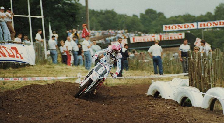 Bob Moore, KTM 125cc, Hawkstone Park 125cc British Grand Prix 1989
