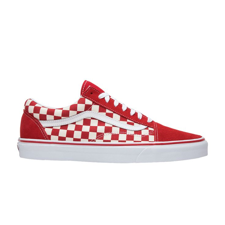 GOAT: Buy and Sell Authentic Sneakers | Red checkered vans, Vans ...