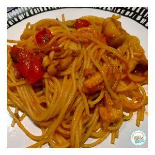 Schiscetta alla romana: Spaghetti al sugo di totani
